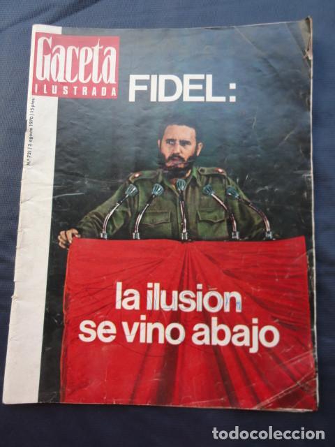 Coleccionismo de Revista Gaceta Ilustrada: 2 REVISTAS GACETA ILUSTRADA. AÑO 1970 y 1972. - Foto 3 - 218835498