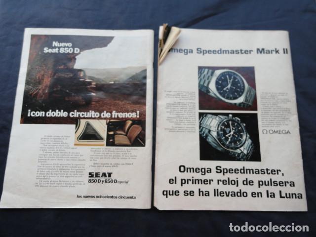 Coleccionismo de Revista Gaceta Ilustrada: 2 REVISTAS GACETA ILUSTRADA. AÑO 1970 y 1972. - Foto 4 - 218835498