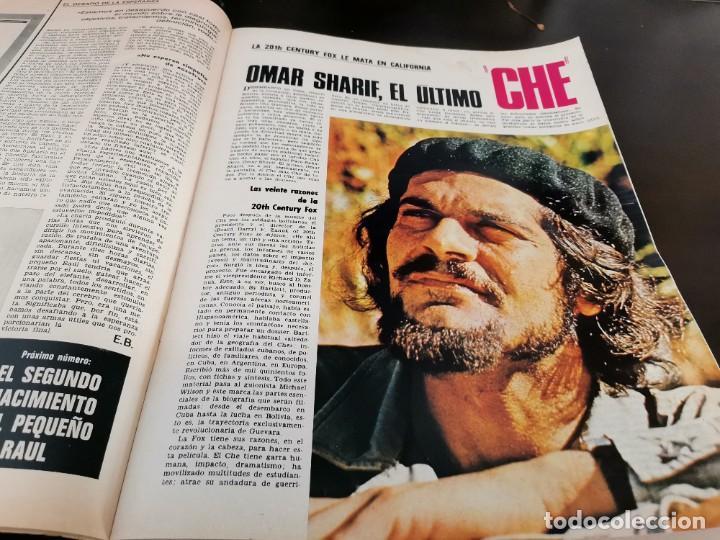 Coleccionismo de Revista Gaceta Ilustrada: REVISTA GACETA ILUSTRADA 658 AÑO 1969 SUBNORMALES DE ESPAÑA, OMAR SHARIF EL ÚLTIMO CHE, BIAFRA - Foto 3 - 218990782