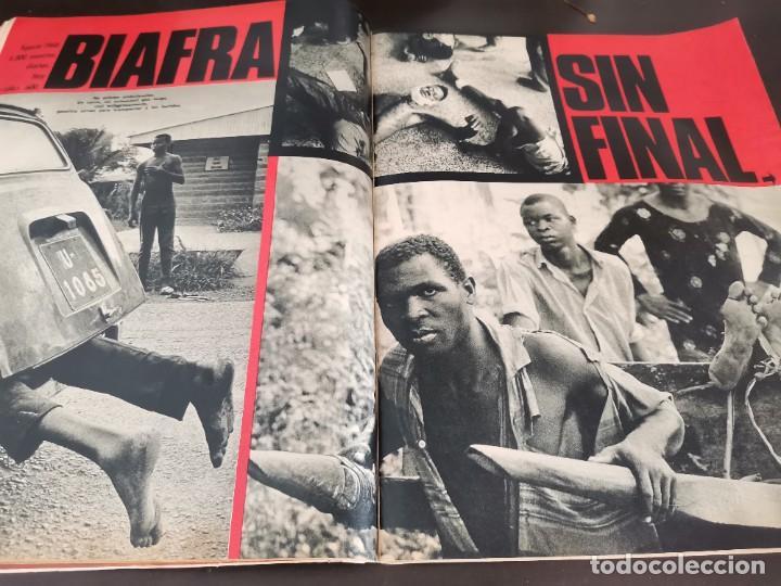 Coleccionismo de Revista Gaceta Ilustrada: REVISTA GACETA ILUSTRADA 658 AÑO 1969 SUBNORMALES DE ESPAÑA, OMAR SHARIF EL ÚLTIMO CHE, BIAFRA - Foto 11 - 218990782