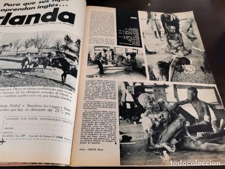 Coleccionismo de Revista Gaceta Ilustrada: REVISTA GACETA ILUSTRADA 658 AÑO 1969 SUBNORMALES DE ESPAÑA, OMAR SHARIF EL ÚLTIMO CHE, BIAFRA - Foto 12 - 218990782