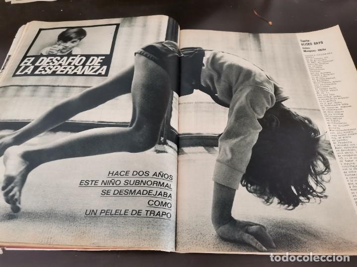 Coleccionismo de Revista Gaceta Ilustrada: REVISTA GACETA ILUSTRADA 658 AÑO 1969 SUBNORMALES DE ESPAÑA, OMAR SHARIF EL ÚLTIMO CHE, BIAFRA - Foto 13 - 218990782