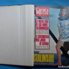 Coleccionismo de Revista Gaceta Ilustrada: REVISTA GACETA ILUSTRADA - 1 TOMO - 8 NUMEROS - AÑO 1967. Lote 220101543