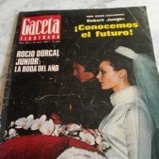 Coleccionismo de Revista Gaceta Ilustrada: REVISTA GACETA ILUSTRADA - Nº 694 -1970 - ROCIO DURCAL JUNIOR LA BODA DEL AÑO - KIM NOVAK -. Lote 222047046