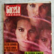 Coleccionismo de Revista Gaceta Ilustrada: REVISTA GACETA ILUSTRADA - Nº 590 -1968 - RAQUEL WELCH -EL NUEVO RENAULT 4 - LUIS MIQUEL LUCIA -. Lote 222053667