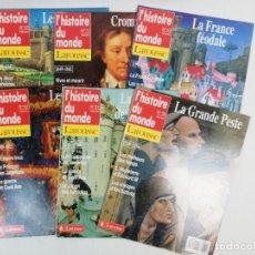 Coleccionismo de Revista Gaceta Ilustrada: LOTE DE REVISTAS L HISTOIRE DU MONDE LAROUSSE. Lote 222325987