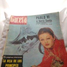 Coleccionismo de Revista Gaceta Ilustrada: AÑO 1963, LA GACETA ILUSTRADA,N°377,DICIEMBRE, PRECIOSA PUBLICIDAD.. Lote 223452838