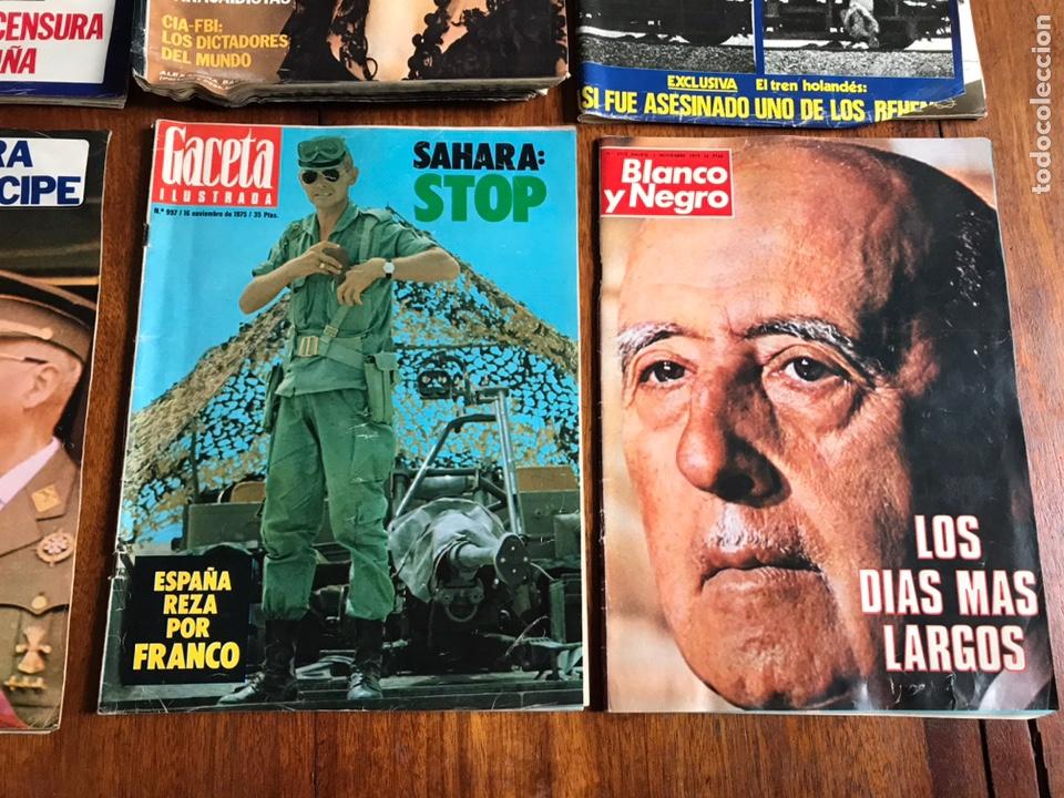 Coleccionismo de Revista Gaceta Ilustrada: Lote de 11 revistasGaceta Ilustrada 1975 y regalo - Foto 6 - 223816635