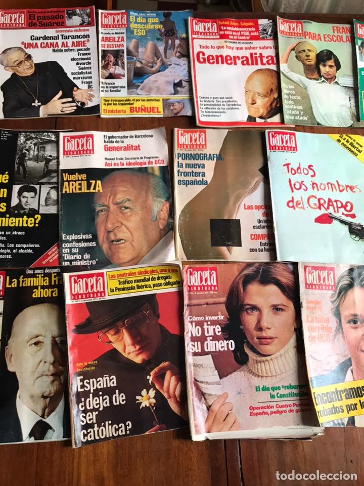 Coleccionismo de Revista Gaceta Ilustrada: Lote de 43 revistas Gaceta Ilustrada 1977 - Foto 7 - 223818097