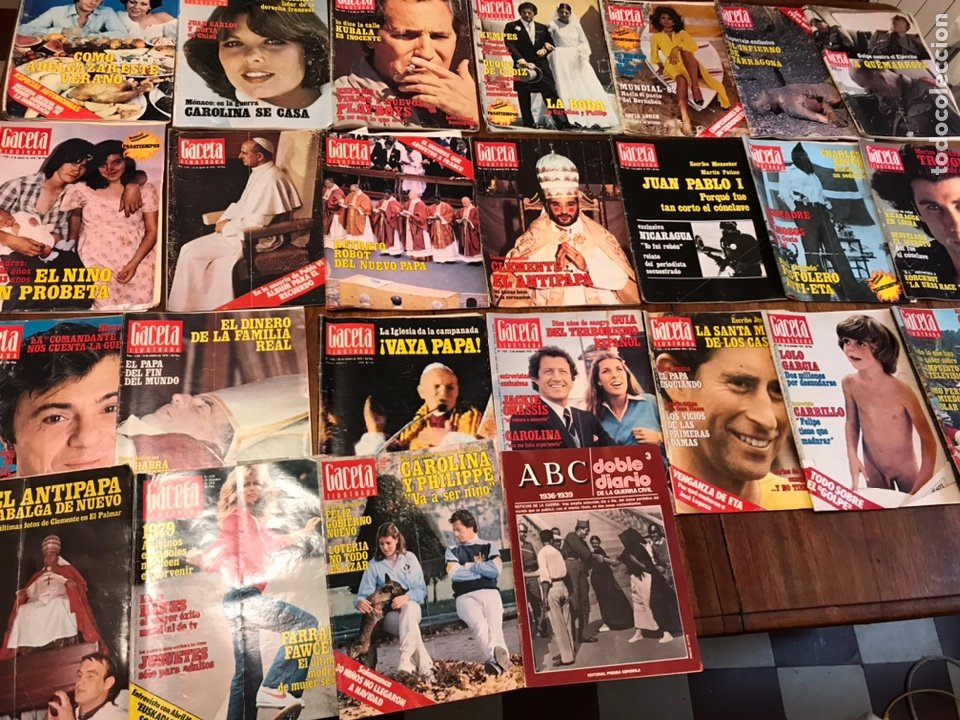 Coleccionismo de Revista Gaceta Ilustrada: Lote de 45 revistas Gaceta Ilustrada 1978 - Foto 6 - 223826937