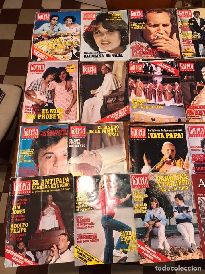 Coleccionismo de Revista Gaceta Ilustrada: Lote de 45 revistas Gaceta Ilustrada 1978 - Foto 7 - 223826937