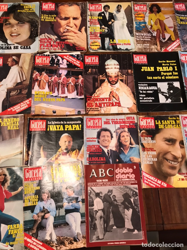 Coleccionismo de Revista Gaceta Ilustrada: Lote de 45 revistas Gaceta Ilustrada 1978 - Foto 8 - 223826937