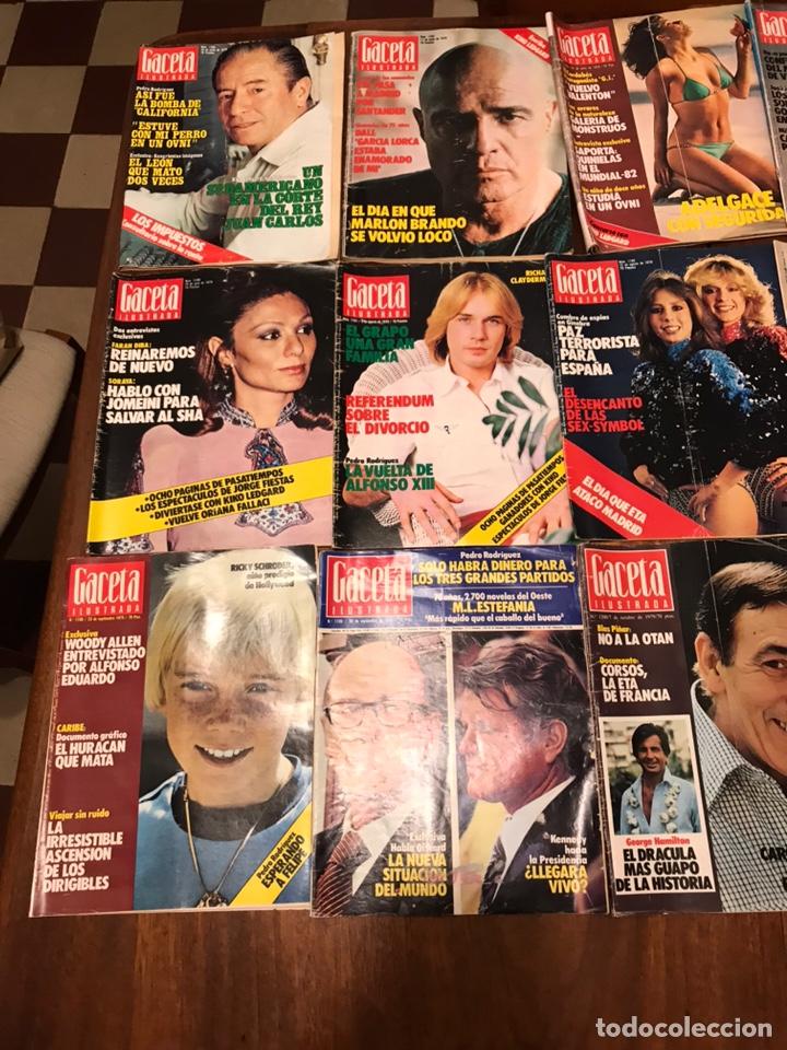 Coleccionismo de Revista Gaceta Ilustrada: Lote de 49 revista Gaceta Ilustrada 1979 - Foto 6 - 223834961