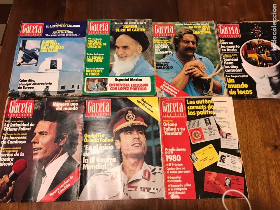 Coleccionismo de Revista Gaceta Ilustrada: Lote de 49 revista Gaceta Ilustrada 1979 - Foto 9 - 223834961