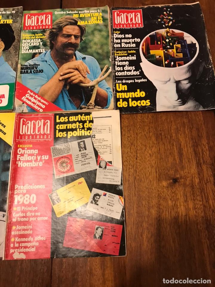 Coleccionismo de Revista Gaceta Ilustrada: Lote de 49 revista Gaceta Ilustrada 1979 - Foto 11 - 223834961
