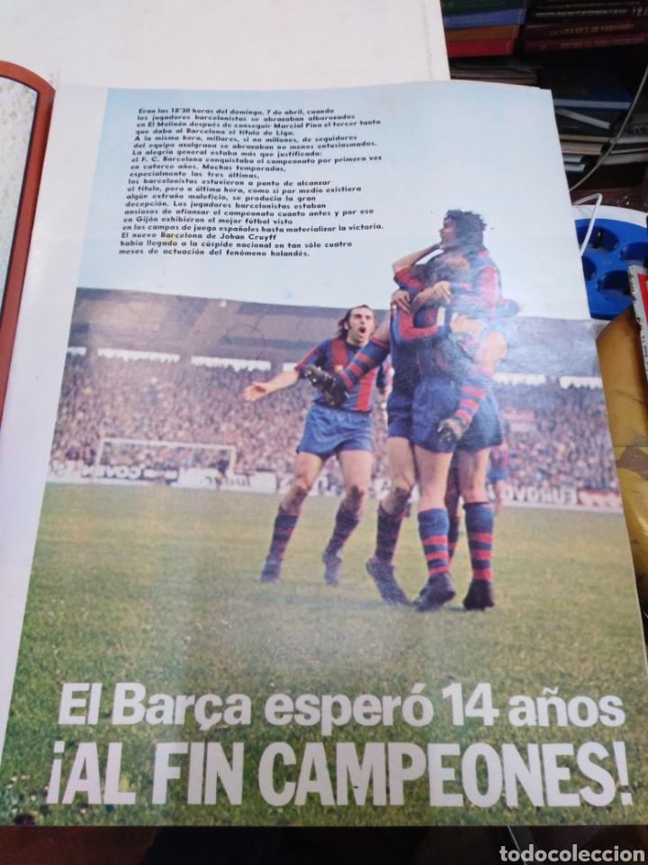 Coleccionismo de Revista Gaceta Ilustrada: GACETA ILUSTRADA-EL BARSA CAMPEÓN - 16 PÁGINAS A TODO COLOR-N°915-21 ABRIL 1974 - Foto 3 - 226267385