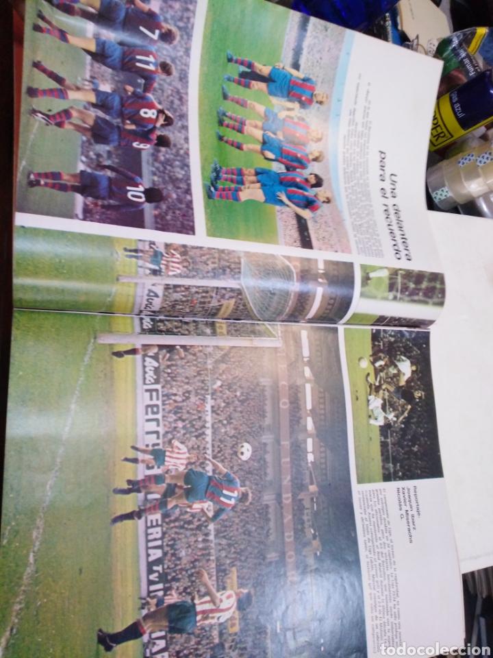 Coleccionismo de Revista Gaceta Ilustrada: GACETA ILUSTRADA-EL BARSA CAMPEÓN - 16 PÁGINAS A TODO COLOR-N°915-21 ABRIL 1974 - Foto 4 - 226267385