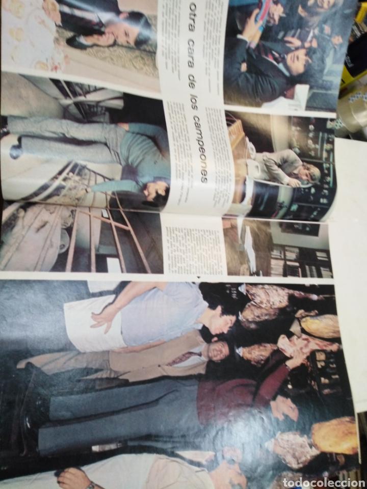 Coleccionismo de Revista Gaceta Ilustrada: GACETA ILUSTRADA-EL BARSA CAMPEÓN - 16 PÁGINAS A TODO COLOR-N°915-21 ABRIL 1974 - Foto 5 - 226267385