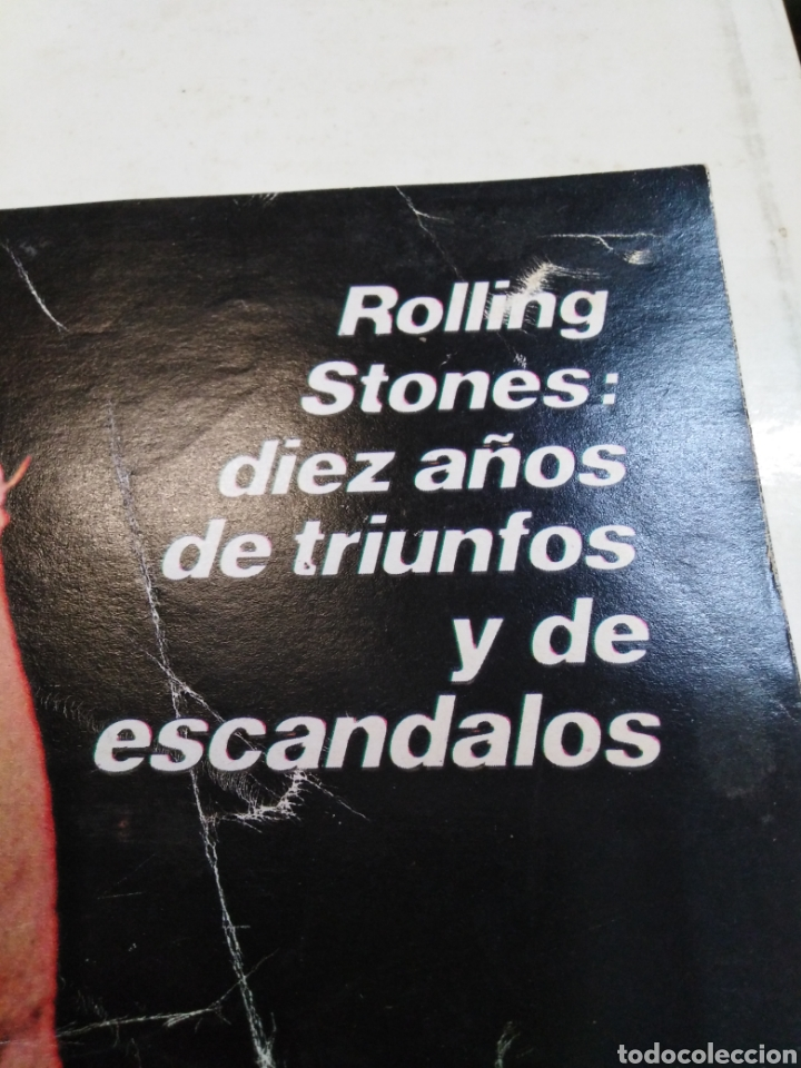 Coleccionismo de Revista Gaceta Ilustrada: GACETA ILUSTRADA-ROLLING STONES DÍEZ AÑOS DE TRIUNFOS Y ESCANDALOS-N°924-23 JUNIO 1974 - Foto 2 - 226271655