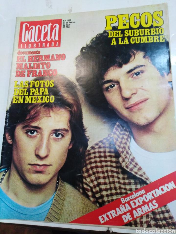 GACETA ILUSTRADA-PECOS DEL SUBURBIO A LA CUMBRE-N°1166-11 FEBRERO 1979 (Coleccionismo - Revistas y Periódicos Modernos (a partir de 1.940) - Revista Gaceta Ilustrada)