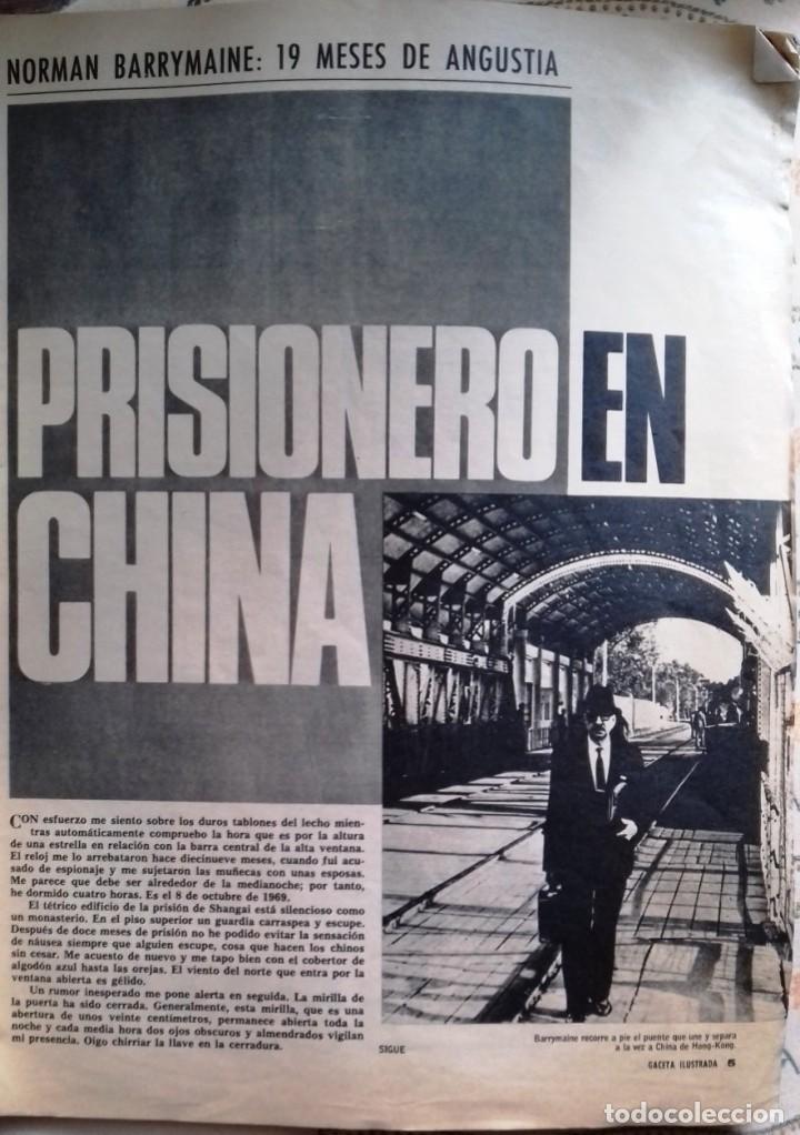 Coleccionismo de Revista Gaceta Ilustrada: LA GACETA ILUSTRADA 7 junio 1970 - Foto 4 - 226286010