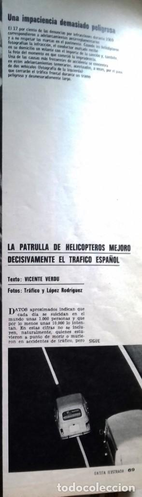 Coleccionismo de Revista Gaceta Ilustrada: LA GACETA ILUSTRADA 7 junio 1970 - Foto 8 - 226286010