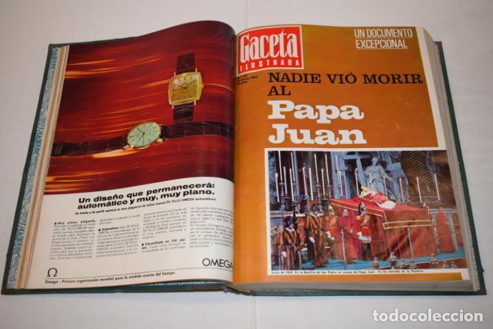 Coleccionismo de Revista Gaceta Ilustrada: TOMO ENCUADERNADO DE 14 REVISTAS * GACETA ILUSTRADA * AÑO 1969 - COMPLETAS Y EN BUEN ESTADO - Foto 8 - 226828675
