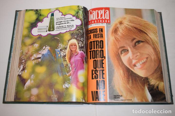 Coleccionismo de Revista Gaceta Ilustrada: TOMO ENCUADERNADO DE 14 REVISTAS * GACETA ILUSTRADA * AÑO 1969 - COMPLETAS Y EN BUEN ESTADO - Foto 12 - 226828675