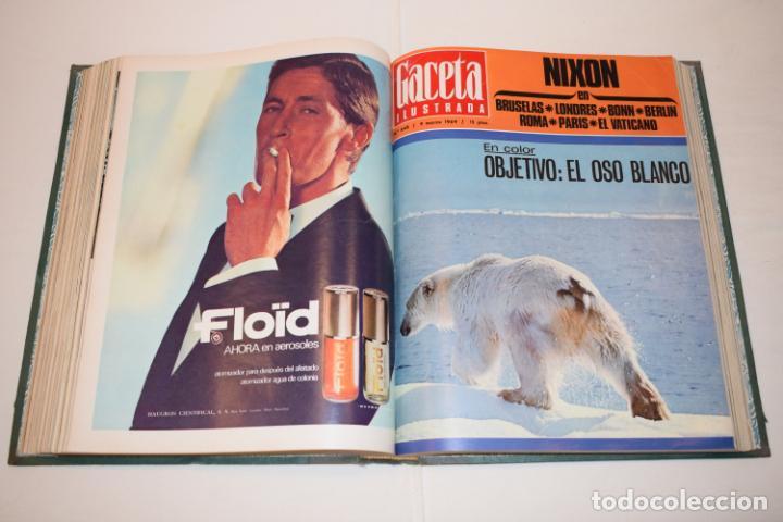 Coleccionismo de Revista Gaceta Ilustrada: TOMO ENCUADERNADO DE 14 REVISTAS * GACETA ILUSTRADA * AÑO 1969 - COMPLETAS Y EN BUEN ESTADO - Foto 15 - 226828675