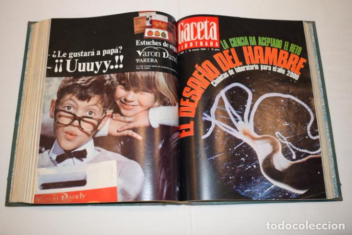 Coleccionismo de Revista Gaceta Ilustrada: TOMO ENCUADERNADO DE 14 REVISTAS * GACETA ILUSTRADA * AÑO 1969 - COMPLETAS Y EN BUEN ESTADO - Foto 16 - 226828675