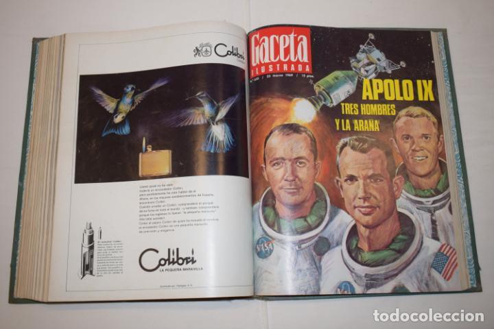 Coleccionismo de Revista Gaceta Ilustrada: TOMO ENCUADERNADO DE 14 REVISTAS * GACETA ILUSTRADA * AÑO 1969 - COMPLETAS Y EN BUEN ESTADO - Foto 17 - 226828675