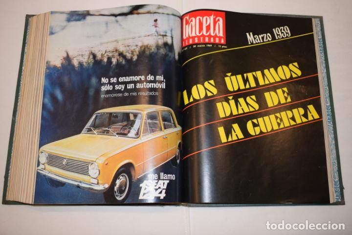 Coleccionismo de Revista Gaceta Ilustrada: TOMO ENCUADERNADO DE 14 REVISTAS * GACETA ILUSTRADA * AÑO 1969 - COMPLETAS Y EN BUEN ESTADO - Foto 18 - 226828675