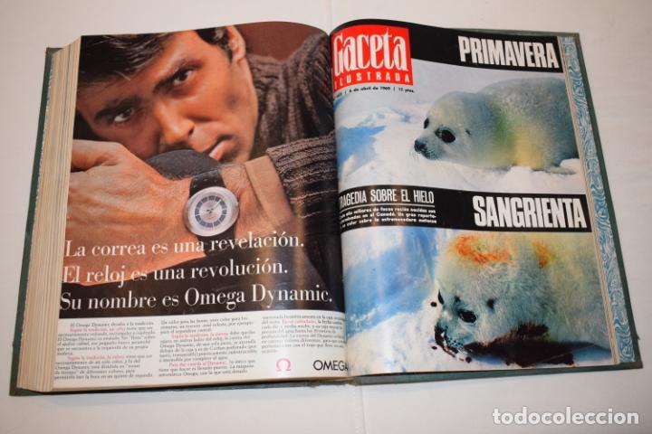 Coleccionismo de Revista Gaceta Ilustrada: TOMO ENCUADERNADO DE 14 REVISTAS * GACETA ILUSTRADA * AÑO 1969 - COMPLETAS Y EN BUEN ESTADO - Foto 19 - 226828675