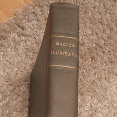 Coleccionismo de Revista Gaceta Ilustrada: TOMO ENCUADERNADO DE 14 REVISTAS * GACETA ILUSTRADA * AÑO 1969 - COMPLETAS Y EN BUEN ESTADO. Lote 226828675
