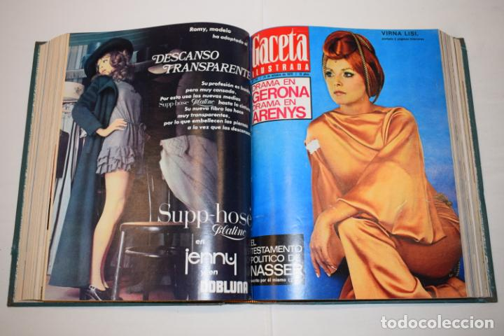 Coleccionismo de Revista Gaceta Ilustrada: TOMO ENCUADERNADO DE 15 REVISTAS * GACETA ILUSTRADA * AÑO 1970 - COMPLETAS Y EN BUEN ESTADO - Foto 15 - 226830030