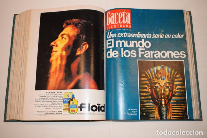 Coleccionismo de Revista Gaceta Ilustrada: TOMO ENCUADERNADO DE 15 REVISTAS * GACETA ILUSTRADA * AÑO 1970 - COMPLETAS Y EN BUEN ESTADO - Foto 18 - 226830030