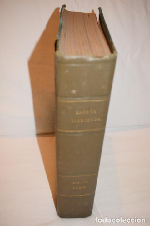 Coleccionismo de Revista Gaceta Ilustrada: TOMO ENCUADERNADO DE 15 REVISTAS * GACETA ILUSTRADA * AÑO 1969 - COMPLETAS Y EN BUEN ESTADO - Foto 2 - 226831040