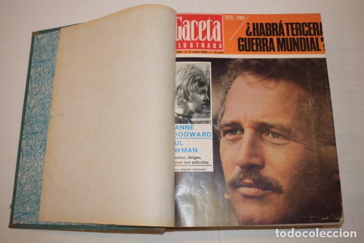 Coleccionismo de Revista Gaceta Ilustrada: TOMO ENCUADERNADO DE 15 REVISTAS * GACETA ILUSTRADA * AÑO 1969 - COMPLETAS Y EN BUEN ESTADO - Foto 6 - 226831040