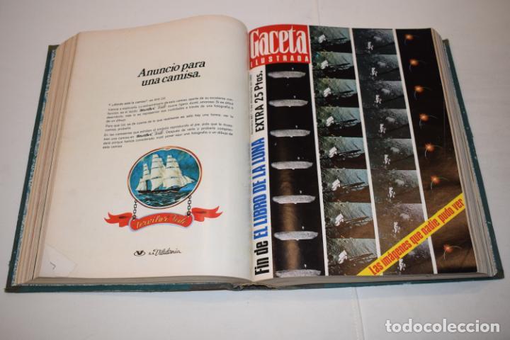 Coleccionismo de Revista Gaceta Ilustrada: TOMO ENCUADERNADO DE 15 REVISTAS * GACETA ILUSTRADA * AÑO 1969 - COMPLETAS Y EN BUEN ESTADO - Foto 11 - 226831040