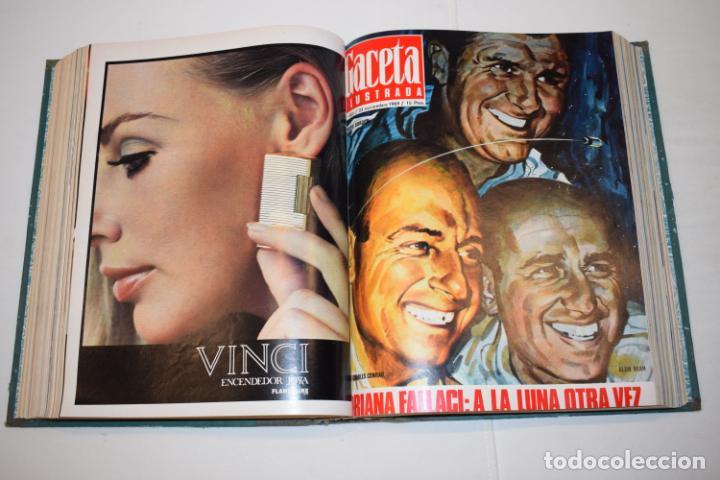 Coleccionismo de Revista Gaceta Ilustrada: TOMO ENCUADERNADO DE 15 REVISTAS * GACETA ILUSTRADA * AÑO 1969 - COMPLETAS Y EN BUEN ESTADO - Foto 13 - 226831040