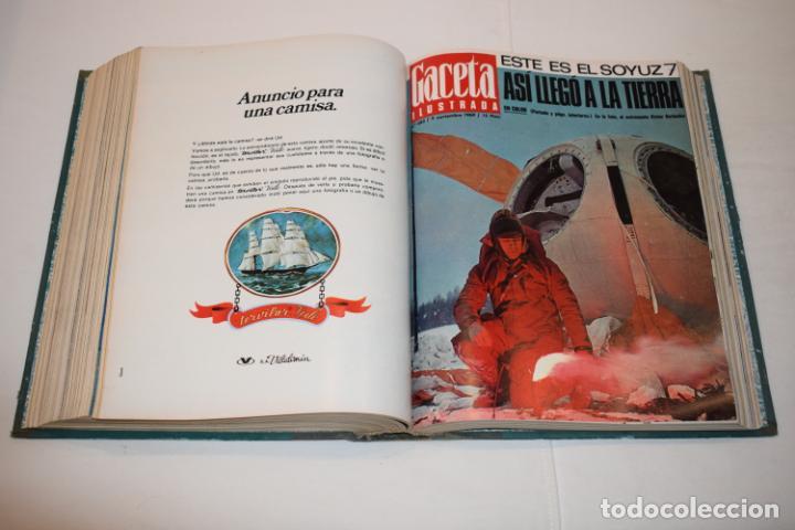 Coleccionismo de Revista Gaceta Ilustrada: TOMO ENCUADERNADO DE 15 REVISTAS * GACETA ILUSTRADA * AÑO 1969 - COMPLETAS Y EN BUEN ESTADO - Foto 15 - 226831040