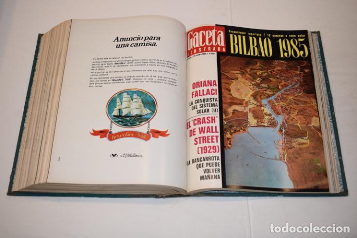 Coleccionismo de Revista Gaceta Ilustrada: TOMO ENCUADERNADO DE 15 REVISTAS * GACETA ILUSTRADA * AÑO 1969 - COMPLETAS Y EN BUEN ESTADO - Foto 17 - 226831040
