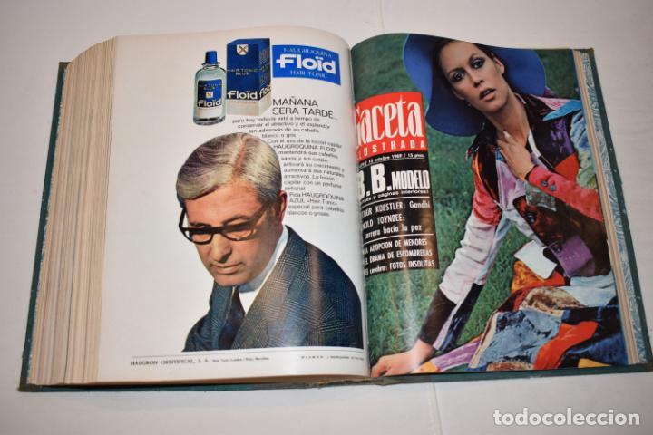 Coleccionismo de Revista Gaceta Ilustrada: TOMO ENCUADERNADO DE 15 REVISTAS * GACETA ILUSTRADA * AÑO 1969 - COMPLETAS Y EN BUEN ESTADO - Foto 19 - 226831040
