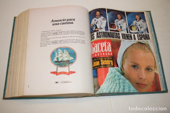 Coleccionismo de Revista Gaceta Ilustrada: TOMO ENCUADERNADO DE 15 REVISTAS * GACETA ILUSTRADA * AÑO 1969 - COMPLETAS Y EN BUEN ESTADO - Foto 20 - 226831040