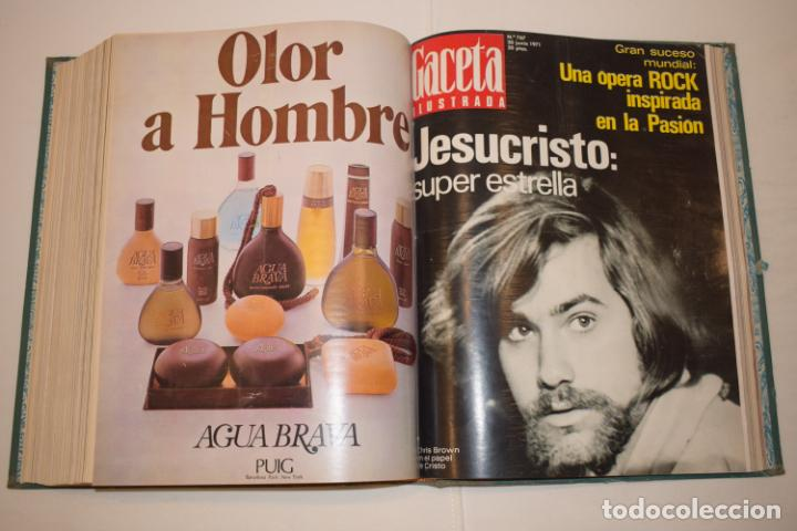 Coleccionismo de Revista Gaceta Ilustrada: TOMO ENCUADERNADO DE 14 REVISTAS * GACETA ILUSTRADA * AÑO 1971 - COMPLETAS Y EN BUEN ESTADO - Foto 17 - 226832795