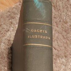 Coleccionismo de Revista Gaceta Ilustrada: TOMO ENCUADERNADO DE 14 REVISTAS * GACETA ILUSTRADA * AÑO 1971 - COMPLETAS Y EN BUEN ESTADO. Lote 226832795