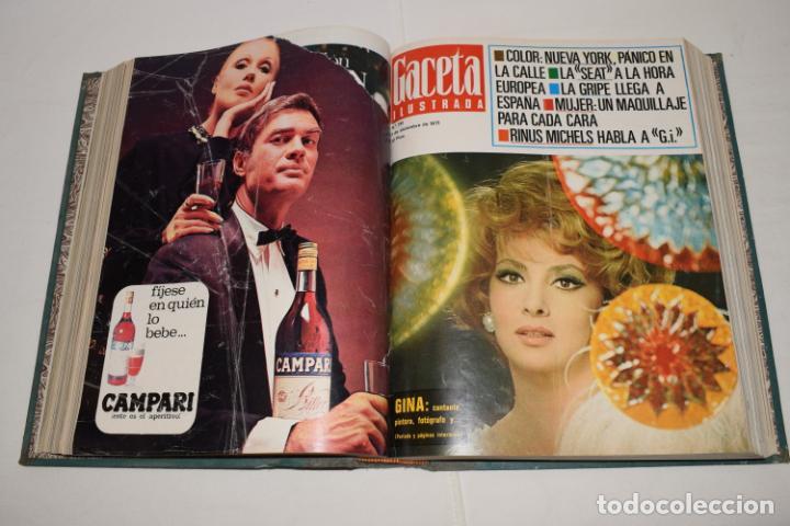 Coleccionismo de Revista Gaceta Ilustrada: TOMO ENCUADERNADO DE 12 REVISTAS * GACETA ILUSTRADA * AÑO 1971 y 1972 - COMPLETAS Y EN BUEN ESTADO - Foto 9 - 226833340
