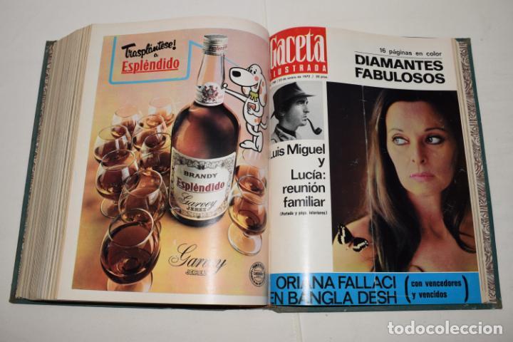 Coleccionismo de Revista Gaceta Ilustrada: TOMO ENCUADERNADO DE 12 REVISTAS * GACETA ILUSTRADA * AÑO 1971 y 1972 - COMPLETAS Y EN BUEN ESTADO - Foto 16 - 226833340