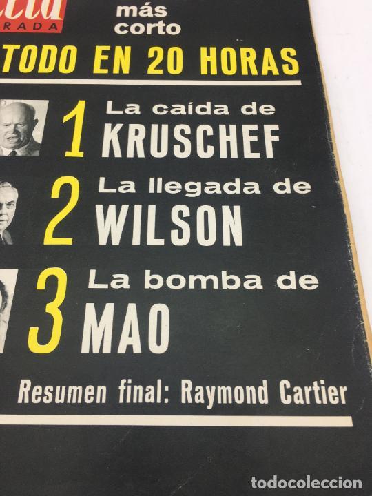 Coleccionismo de Revista Gaceta Ilustrada: GACETA ILUSTRADA - Nº 420 - OCTUBRE DE 1964 - EL DIA MAS CORTO - GUERRA FRIA - Foto 3 - 227469015