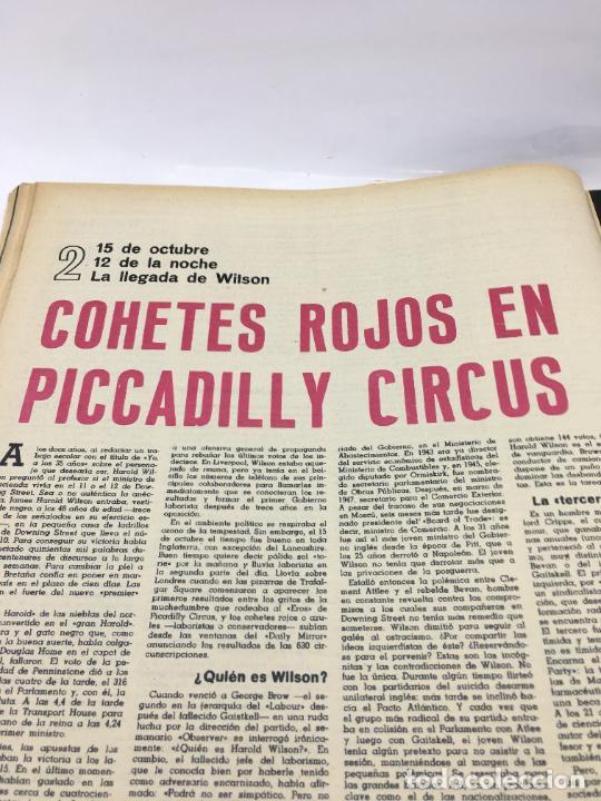 Coleccionismo de Revista Gaceta Ilustrada: GACETA ILUSTRADA - Nº 420 - OCTUBRE DE 1964 - EL DIA MAS CORTO - GUERRA FRIA - Foto 4 - 227469015